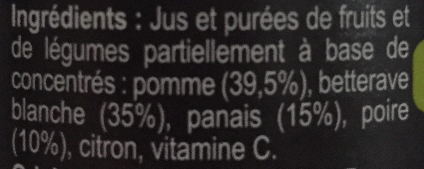 Betterave panais poire - Ingrediënten