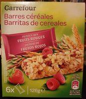 Barritas de cereales Pepitas de frutos rojos - Producto - es