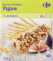 Barres Céréales Figue - Product