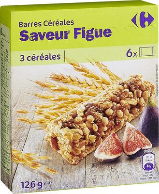 Barres Céréales Saveur Figue - Produit - fr