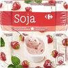 Yaourt soja fraise - Product