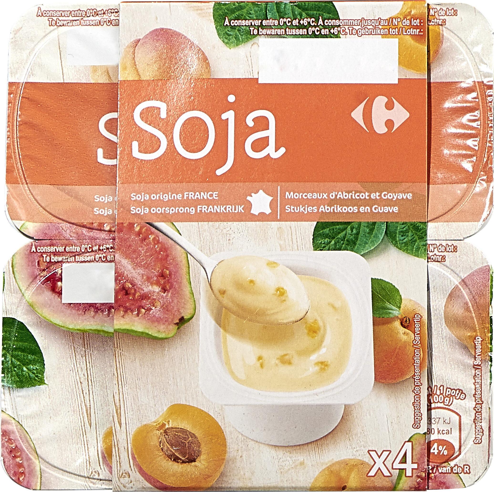 Yaourt soja abricot goyave - Prodotto - fr