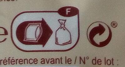 Mélange épeautre, lentilles corail, graines de sésame - Instrucciones de reciclaje y/o información de embalaje - fr