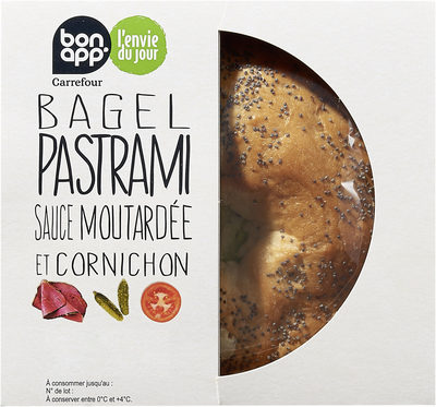 Bagel Pastrami - Product