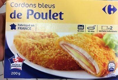 Cordons Bleus de Poulet - Produit - fr