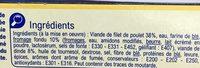 Cordons Bleus de Poulet - Ingrédients - fr