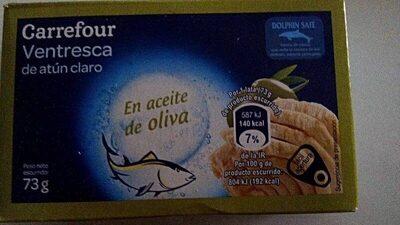 Ventresca de atún claro - Producto - es