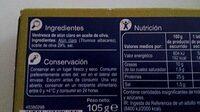 Ventresca de atún claro - Ingredientes - es