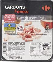 Lardons Fumés - Produit