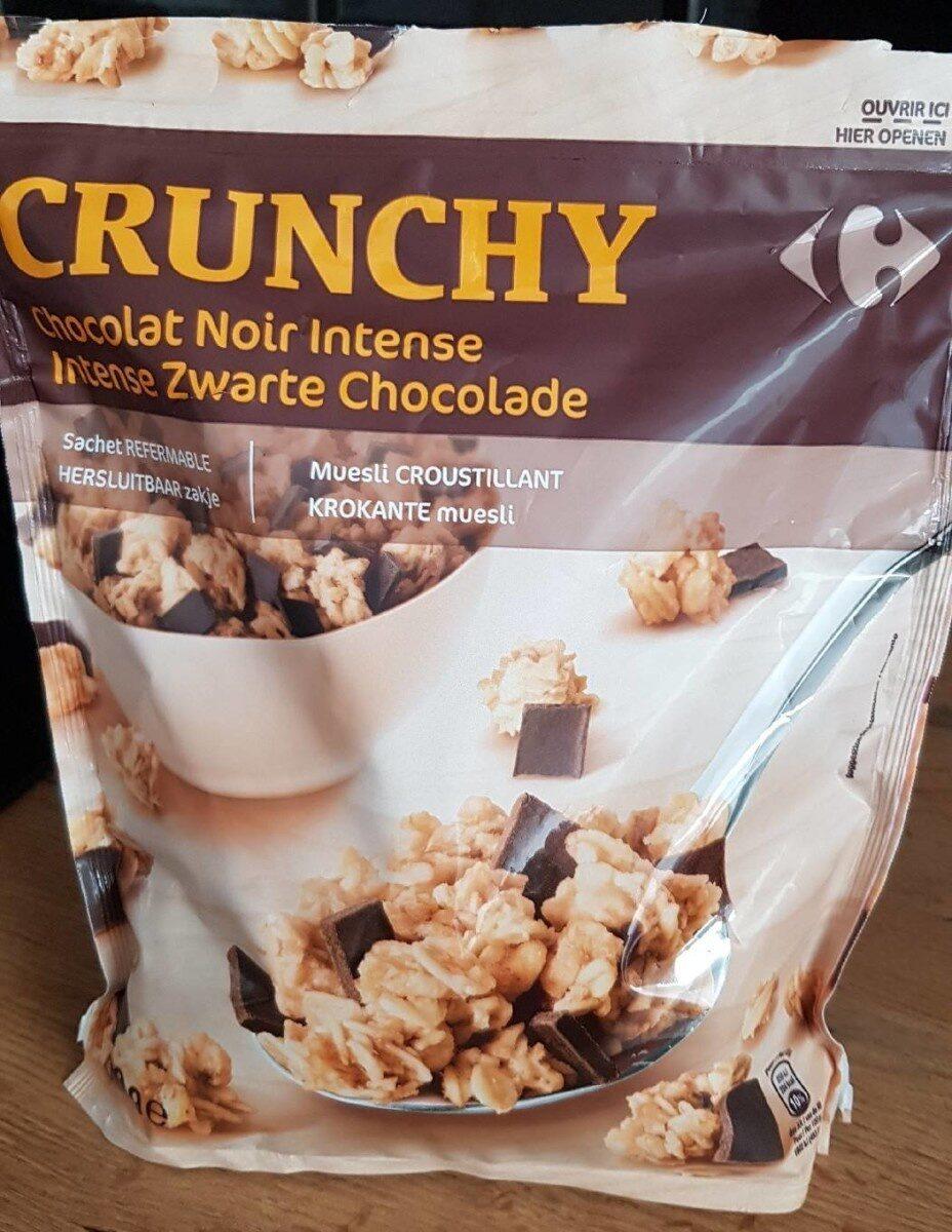 Crunchy Chocolat noir intense - Product - fr