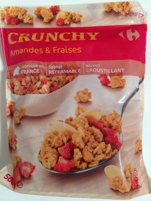 CRUNCHY Amandes & Fraises - Produit