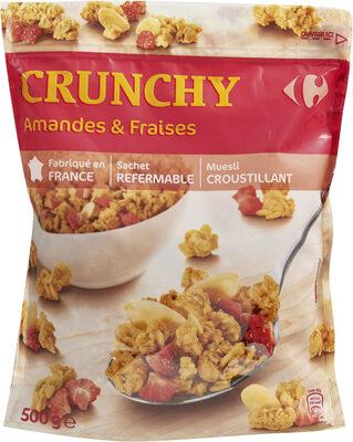 Crunchy Amandes & Fraises - Produit - fr