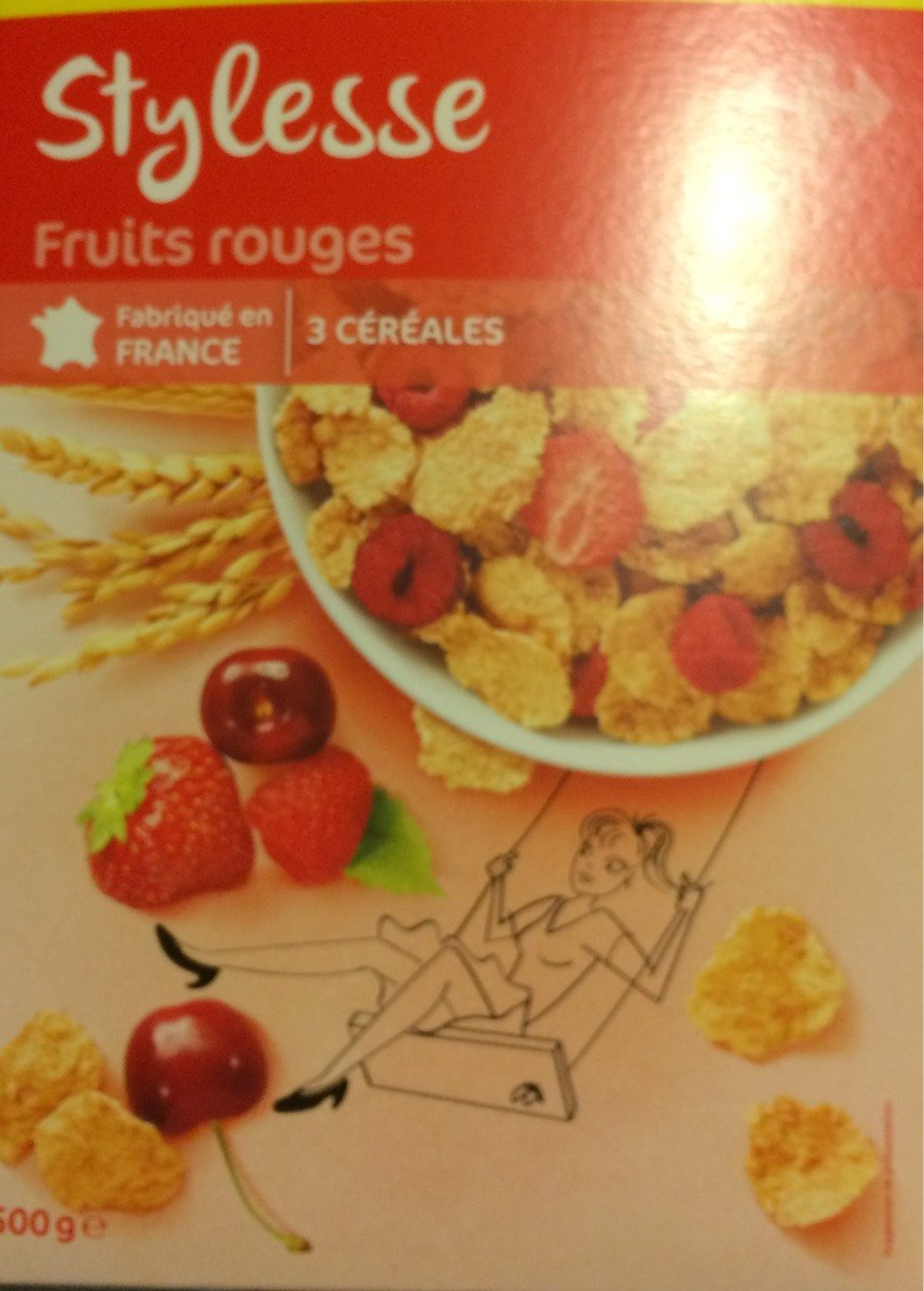 Stylesse Fruits Rouges - Producte - fr