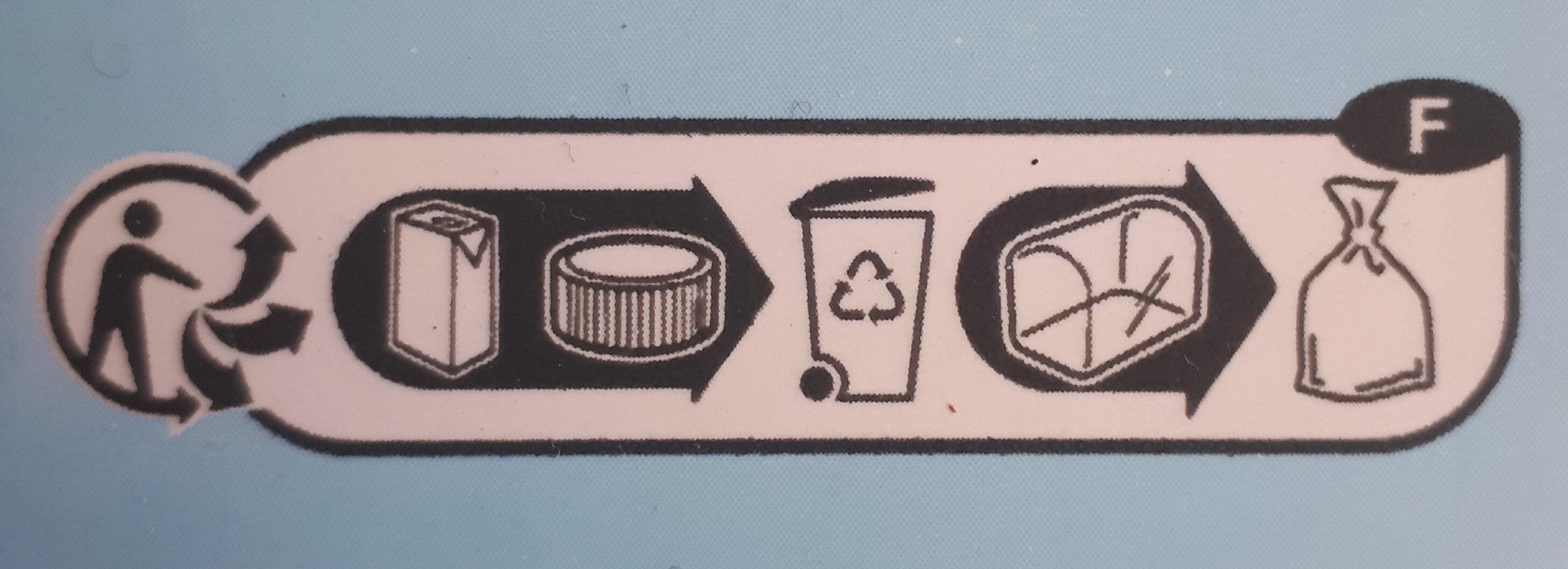 Lait des plaines de La Loire - Instruction de recyclage et/ou informations d'emballage - fr