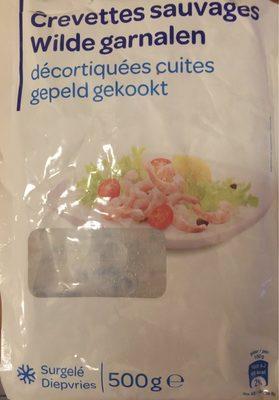 Crevettes sauvages - Produit - fr