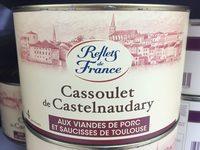 cassoulet de Castelnaudary aux viandes de porc et saucisses de Toulouse - Product