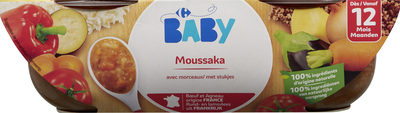 Moussaka avec morceaux - Product - fr
