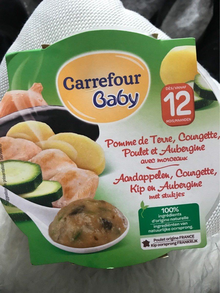 23deb5647e2 Plat bébé légumes et poulet dès 12 mois Baby