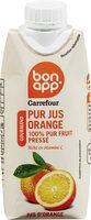 Bon app' pur jus orange pressée - Prodotto - fr