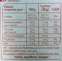 Cornflakes Choco - Información nutricional - fr