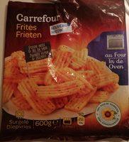 Frites au four poivre noir et sel de mer - Product - fr