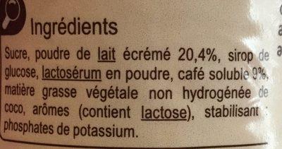 Cappuccino - Ingredientes