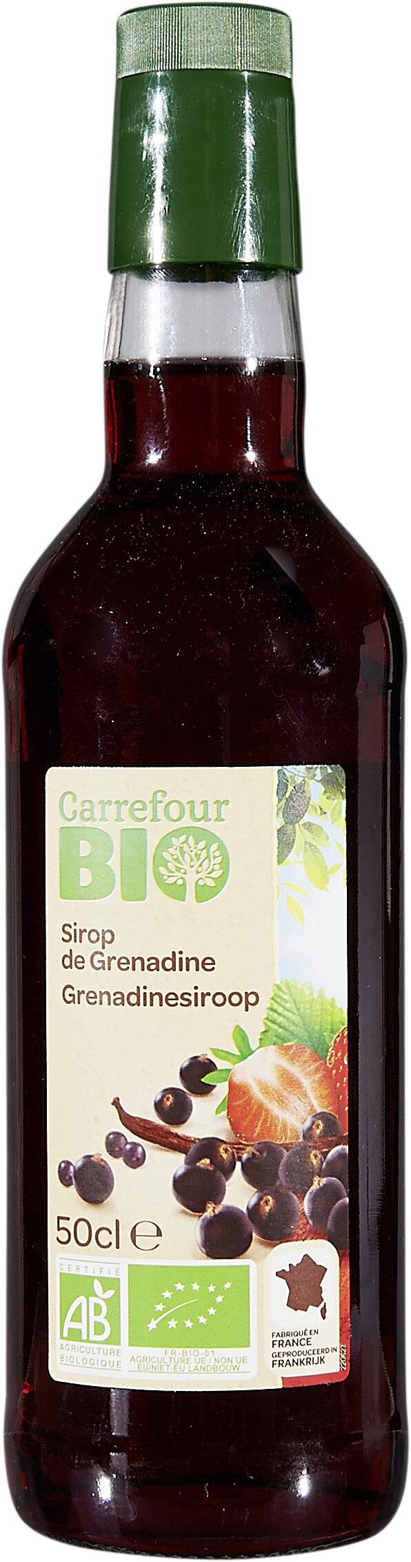 Sirop de grenadine - Produit - fr
