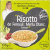 """Risotto de Fenouil, Merlu Blanc, Tomate"" - Product"