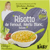 """""""Risotto de Fenouil, Merlu Blanc, Tomate"""" - Product"""