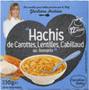 """Hachis de Carottes, Lentilles, Cabillaud au Romarin"" - Product"