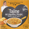 """Tajine de Légumes, Poulet, Raisins secs & Curry"" - Product"