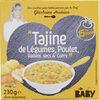 """""""Tajine de Légumes, Poulet, Raisins secs & Curry"""" - Product"""