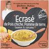"""""""Ecrasé de Pois chiche, Pomme de terre, Saumon & curcuma"""" - Product"""