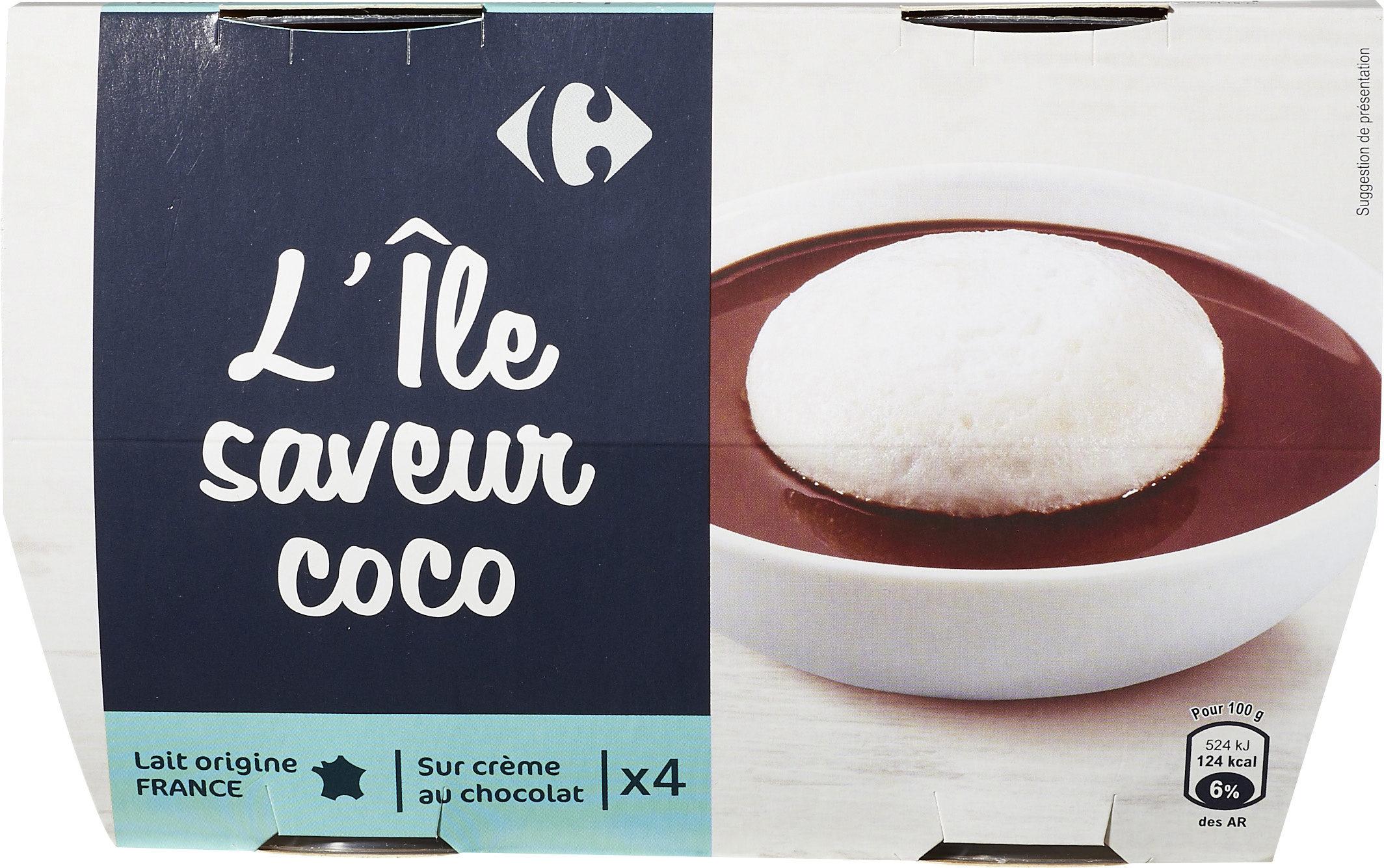 L Ile Saveur Coco Carrefour 400 G 4 X 100 G