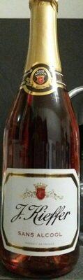 Kieffer Rosé Sans Alcool 75cl - Produit - fr