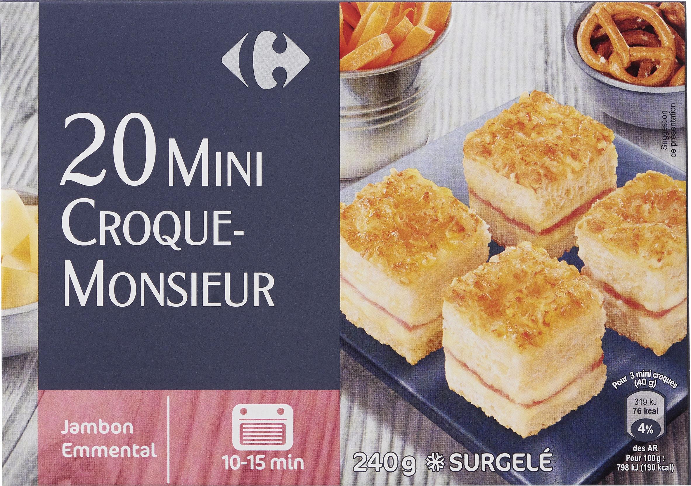 20 Mini Croque-Monsieur - Produit - fr