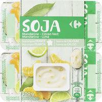 Sojamandarine - citron vert - Product