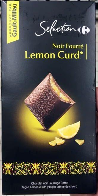 Noir Fourré Lemon Curd - Produit