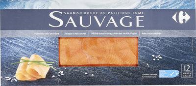 Saumon rouge du Pacifique fumé SAUVAGE - Product - fr