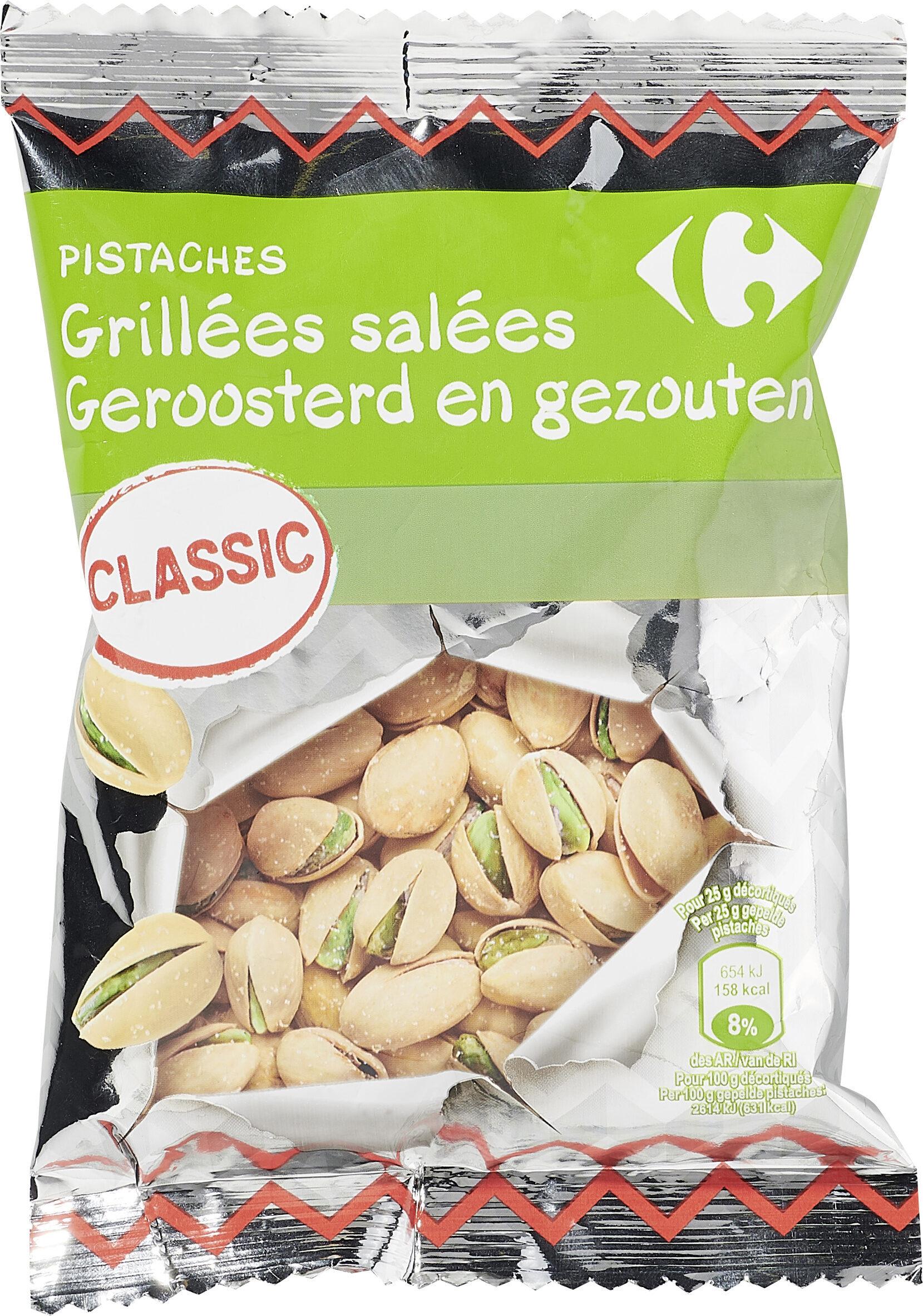 PISTACHES Grillées salées - Product - fr