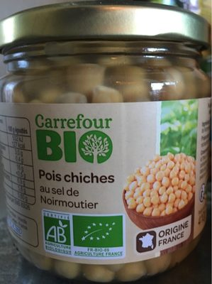 Pois chiches au sel de Noirmoutier - Produit - fr
