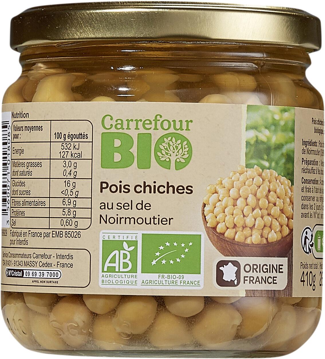 Pois chiches au sel de Noirmoutier - Prodotto - fr