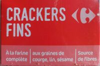 Crackers fins - Product - fr