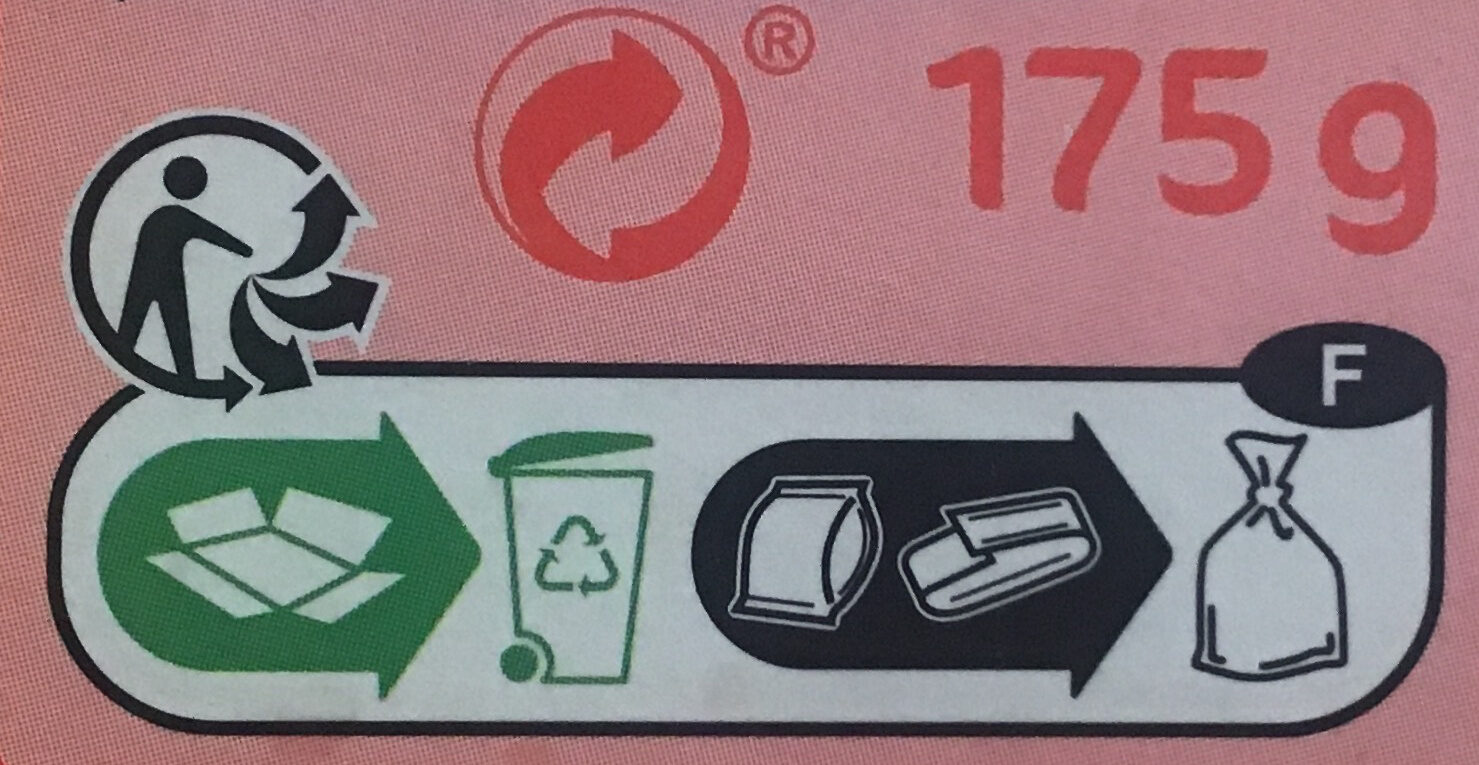 Crackers fins - Recycling instructions and/or packaging information - fr