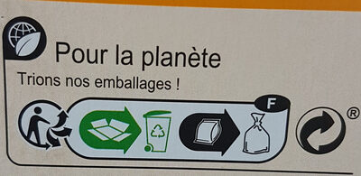 Tartine au froment - Recycling instructions and/or packaging information - fr
