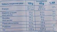 Crunchy Coco & Chocolat - Muesli croustillant - Informations nutritionnelles - fr