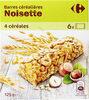 barre céréales noisette - Prodotto