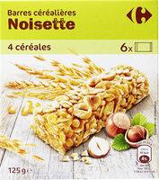 barre céréales noisette - Prodotto - fr