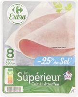 Jambon supérieur sans couenne - Product - fr