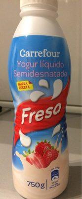 Yaourt à boire  Fraise - Producto